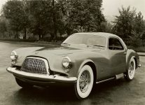 1954 DE SOTO Adventurer 1 10″x8″ black & white photograph