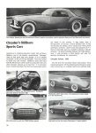 1954 DE SOTO Adventurer Chrysler's Stillborn Sports Cars: Excitement From Exner CONSUMER GUIDE Prototype Cars Cars That Never Were Classic Car IND 37629 Feb 1981 8.25″x11″ page 30
