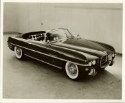 1954 DODGE Fire Arrow Roadster Convertible 10″x8″ black & white photograph