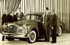 1950 PLYMOUTH XX-500 Ghia 8.5″x5.5″ black & white photograph