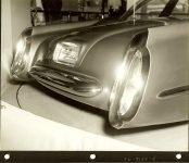 1953 LINCOLN XL-500 9.5″x7.5″ black & white photograph TD-9126-4