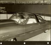 1953 LINCOLN XL-500 9.5″x7.5″ black & white photograph TD-9126-6