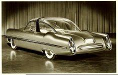 1953 LINCOLN XL-500 10″x8″ black & white photograph 101169-4 943b