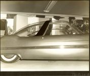 1953 LINCOLN XL-500 9.5″x7.5″ black & white photograph TD-9126-8a