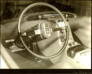 1953 LINCOLN XL-500 9.5″x7.5″ black & white photograph TD-9126-11