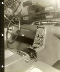 1953 LINCOLN XL-500 7.5″x9.5″ black & white photograph TD-9126-12