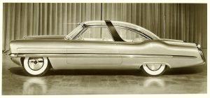 1953 LINCOLN XL-500 10″x8″ black & white photograph 101169-9 943c