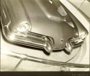 1953 LINCOLN XL-500 9.5″x7.5″ black & white photograph TD-9126-1a