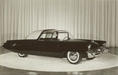 ca. 1957 LINCOLN Typhoon 9.25″x6″ black & white photograph