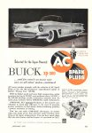 1952 1 BUICK XP-300…and for nearly as many new cars as all other makes combined AC SPARK PLUGS Popular Mechanics January 1952 6.5″x9.5″ page 427