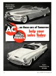 1952 12 Buick XP-300 AC…on these cars of Tomorrow AC QUALITY PRODUCTS Chilton's MOTOR AGE December 1952 8.25″x11.25″ page 14