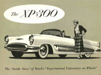"""1952 ca. BUICK XP 300 bro F ca. 1952 BUICK XP-300 The XP-300 The """"Inside Story"""" of Buick's Experimental Laboratory on Wheels 7.75″x5.75″ Front"""