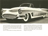 """ca. 1952 BUICK XP-300 The XP-300 The """"Inside Story"""" of Buick's Experimental Laboratory on Wheels 7.75″x5.75″ page 2"""