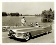 1950 BUICK Le Sabre Designed by the late Harley J. Earl 10″x8″ black & white photograph H-81 #99943-2