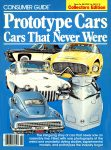 1981 2 CONSUMER GUIDE Prototype Cars Cars That Never Were Classic Car IND 37629 Feb 1981 8.25″x11″ Front cover
