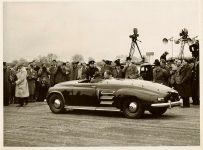 1951 1 10 ROVER Experimental Gas Turbine Driven Car Dated Jan 10, 1951 The ROVER Company Limited Reg. Cave Industrial Photographer Sheldon, B'Ham 26 England