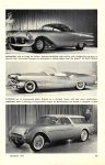 1954 THIS YEAR'S CROP OF DREAM CARS POPULAR MECHANICS March 1954 6.5″x9.25″ page 89