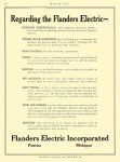 1914 4 2 FLANDERS Electric Car Regarding the Flanders Electric Flanders Manufacturing Company Pontiac, MICH MOTOR AGE April 2, 1912 8.5″x11.25 page 54