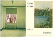 FOSHAY TOWER MINNEAPOLIS Best Known Address in the Northwest 1932 By Walter L. Kroneberger 8.75″x11.25″x2 Front and Back covers