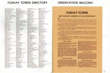 FOSHAY TOWER MINNEAPOLIS Best Known Address in the Northwest 1932 By Walter L. Kroneberger 8.5″x11″ & 7.5″x10″ pages 2 & 3