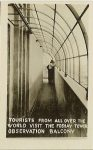 Tourists from all over the world visit the Foshay Tower Observation Balcony 1.75″x2.75″
