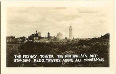 1b Foshay little pic view 1 The Foshay Tower the Northwest's outstanding BLDG. Towers above all Minneapolis 2.75″x1.75″