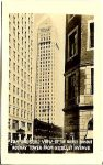 An unusual view of the world famous Foshay Tower from Nicollet Avenue 1.75″x2.75″