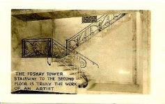 The Foshay Tower stairway to the second Floor is truly the work of an artist 2.75″x1.75″