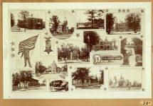 Minnesota SOLDIERS'HOME HAAS BROS PHOTOGRAPHERS 432 Globe Building St. Paul Minnesota Copyright 1898 12″x8″