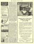 1911 6 3 HUPP-YEATS Electric Car Electric Coach R.C.H. Sales Company Detroit, MICH THE SATURDAY EVENING POST June 3, 1911 10″x13.5″ page 51