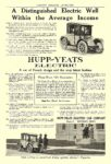 1914 12 ca. HUPP-YEARS Electric A Distinguished Electric Well Within the Average Income HUPP-YEATS ELECTRIC CAR COMPANY Detroit, MICH HARPER'S MAGAZINE ADVERTISER ca. December 1914 6.75″x9.5″