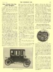 1910 3 23 IDEAL Electric Brougham Ideal Electric Co Chicago, ILL THE HORSELESS AGE March 23, 1910 8.5″x11.5″ page 443