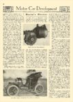 1907 MAXIM-GOODRIDGE Electric Maxim's Electric article Maxim-Goodridge Hartford, CONN MOTOR AGE Motor Car Development 8.5″x12″ page 28