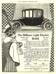 1914 11 28 MILBURN Light Electric $1485 The Milburn Wagon Company Toledo, OHIO THE SATURDAY EVENING POST Nov 28, 1914 10.25″x13.75″ page 31