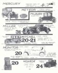 "1921 MILBURN Electric Model ""27-L"" MONSTROUS American Car Spotter's Guide 1920-1980 By Tad Burness Motorbooks International Osceola, WIS 1986 ISBN: 0-87938-223-6 8.5″x9.25″ page 173"