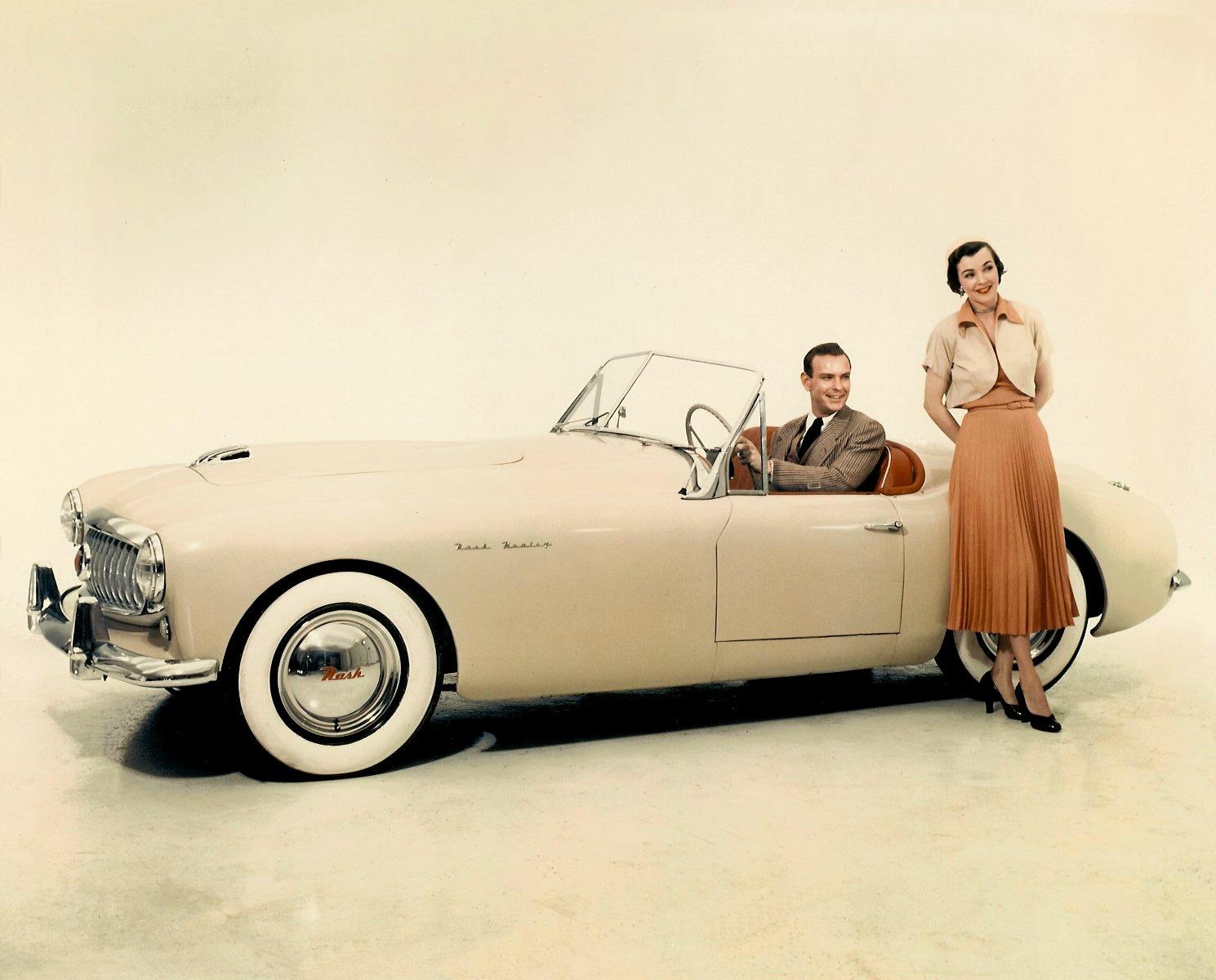 1951 NASH Healey 10″x8″ Color photograph