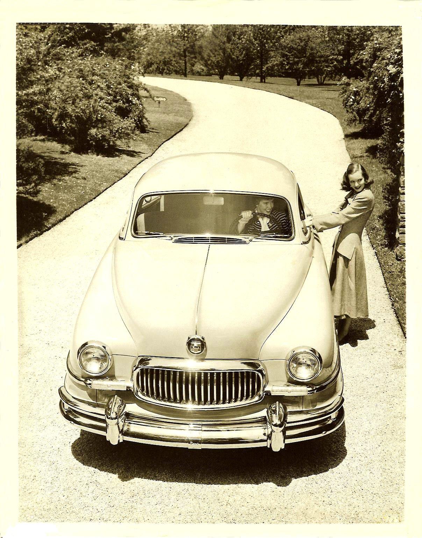1951 NASH New Front End For 1951 NASH Ambassador and Statesman models 8″x10″ Black & White photograph Photo No. 156