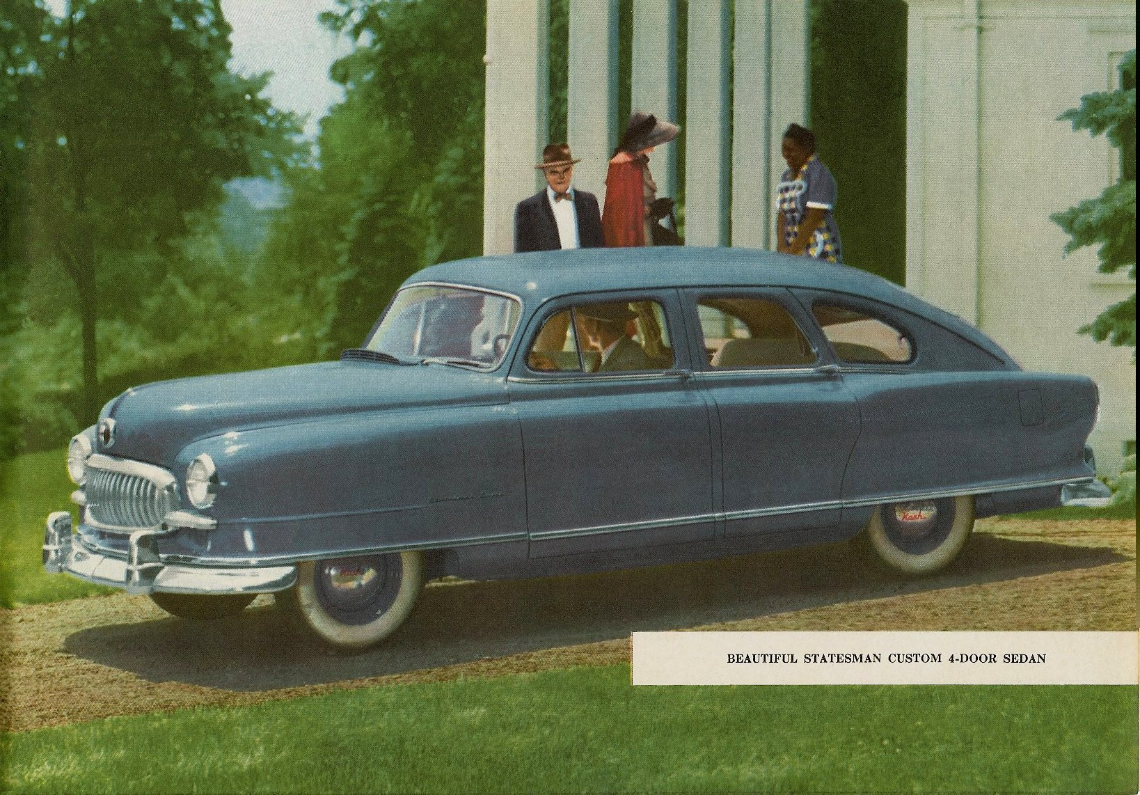 1951 NASH The New NASH Airflytes Sales Catalog NSP51-783-400M – October 1, 1951 Page 10