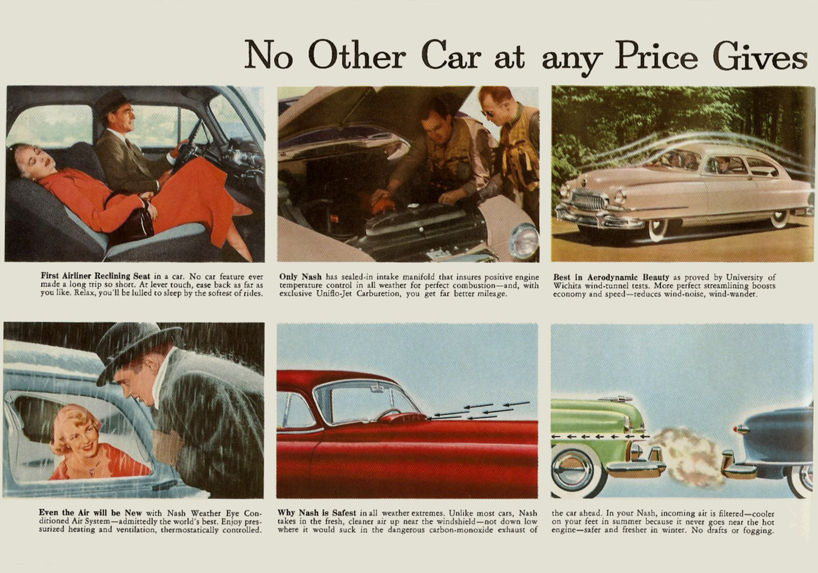 1951 NASH The New NASH Airflytes Sales Catalog NSP51-783-400M – October 1, 1951 Page 3
