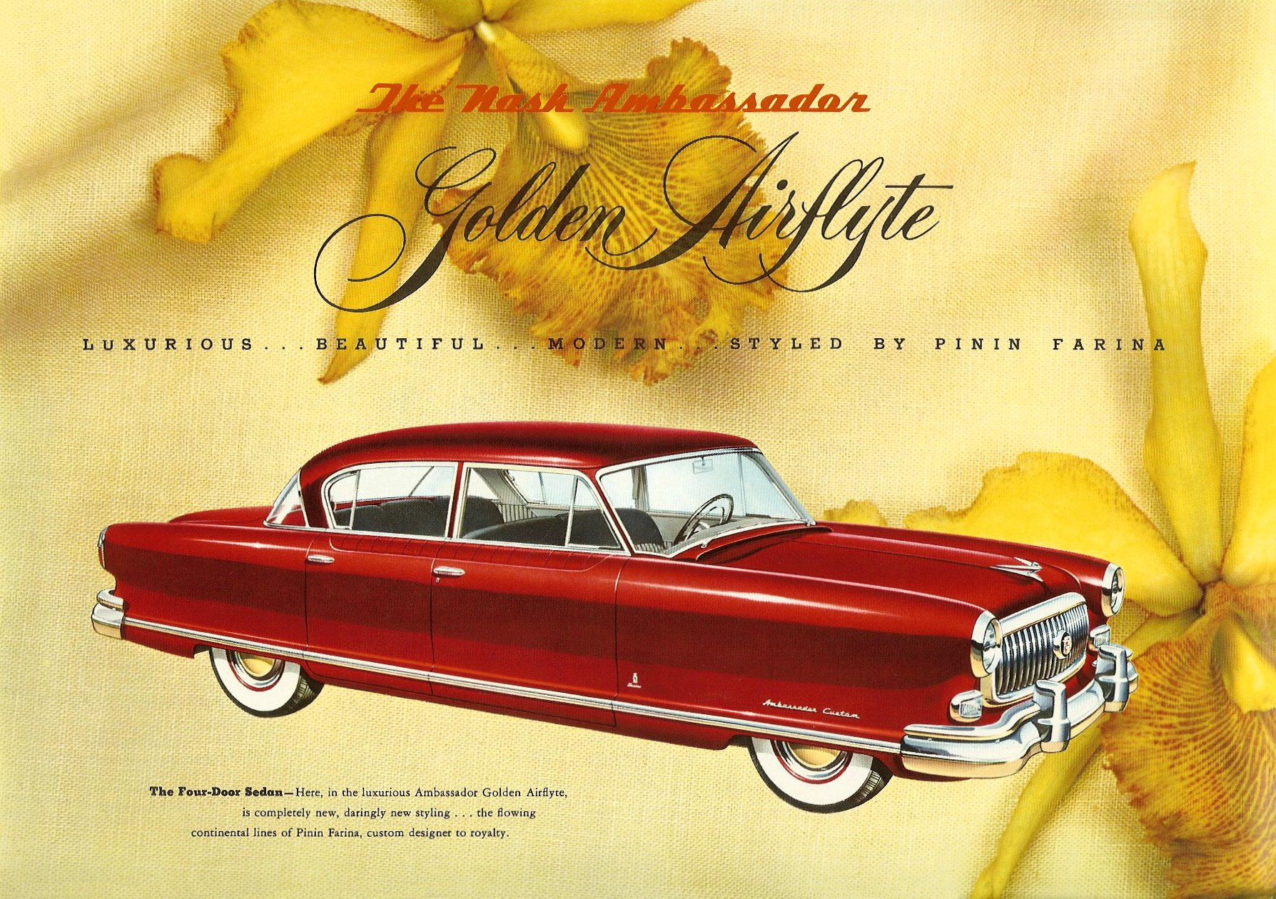 1952 The Golden Airflyte 1902-1952 Golden Anniversary By NASH Sales Catalog NSP-52-950-250M-3-52 Page 8, 12″x9″
