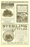 1900 6 WAVERLEY Waverley ELECTRIC Dos-a-dos BICYCLES Page 47 The Century Illustrated Monthly Magazine Vol. LX No. 2 June 1900 6.75″x10″ page 47