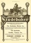"1904 5 18 STUDEBAKER The STUDEBAKER ""THE AUTOMOBILE WITH A REPUTATION BEHIND IT"" Studebaker Bros. Mfg. Co. South Bend, Indiana THE HORSELESS AGE May 18, 1904 Vol. 13 No. 20 9″x12″page XXXVIII"