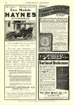 1904 HAYNES Tonneau & Light Touring Car Haynes-Apperson Co Kokomo, IND EVERYBODY'S MAGAZINE 6.5″x9.5″ page 58