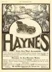 1905 2 15 HAYNES Haynes Cars are Most Acceptable Honesty IS the Haynes Motto The HAYNES Apperson Co Kokomo, Indiana THE HORSELESS AGE February 15, 1905 Vol. 15 No. 7 9″x12″ page I