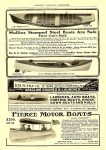 1905 5 PIERCE MOTOR BOATS HARPER'S MAGAZINE ADVERTISER May 1905 6.75″x9.5″