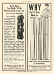 1906 DIAMOND CHAIN The Diamond Chain & Mtg Co Indianapolis, IND MOTOR AGE May 7, 1908 Page 65 8.5″x11.75″