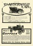 1907 2 7 AUBURN THE MOST FOR THE MONEY CAR Auburn Automobile Company Auburn, Indiana MOTOR AGE 8.25″x11.75″ page 324