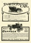 1907 2 7 COPPOCK Model A For 1907 Coppock Motor Car Company Marion, Indiana MOTOR AGE Feb 7, 1907 8.25″x11.75″ page 324
