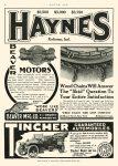 1908 6 11 HAYNES $2,500 $3,000 $3,750 HAYNES Kokomo, IND MOTOR AGE June 11, 1908 8.5″x11.5″ page 60