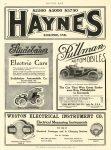 1908 HAYNES Kokomo, IND MOTOR AGE 1908 8.25″x12″ page 72